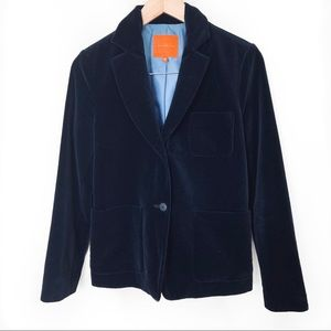 Chang Kwang Hyo Velvet Blazer Jang's Cloth